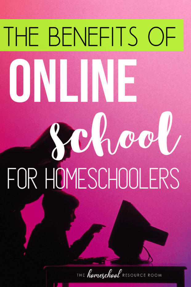 Check out some of the benefits of online school in an interview with working homeschool mom of 2, Layna! #homeschooling #onlineschool #virtualschool