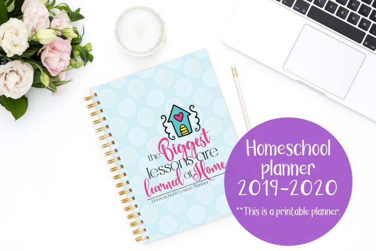 Printable Homeschool planners (1)