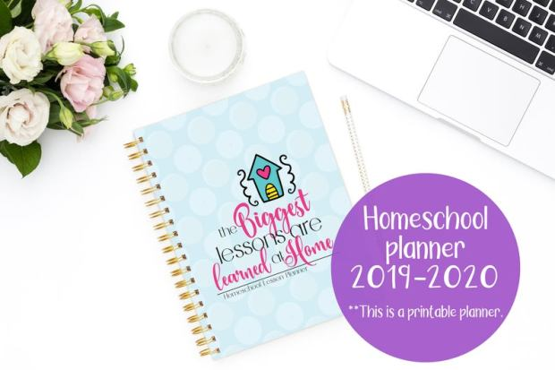 Printable Homeschool planners (1)