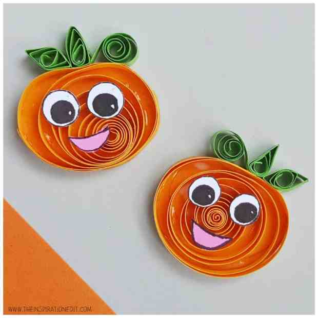Pumpkin Crafts for Kids 8