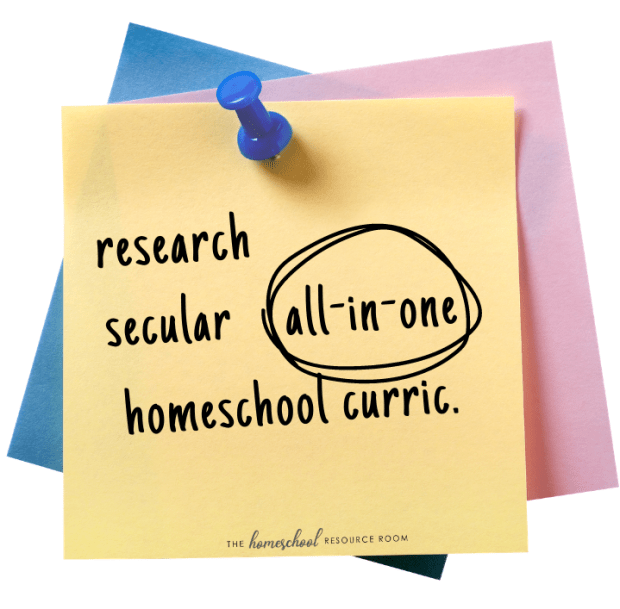 all-in-one secular homeschool curriculum
