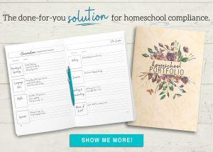 The done-for-you solution for homeschool compliance! Homeschool Portfolio, Show me more!