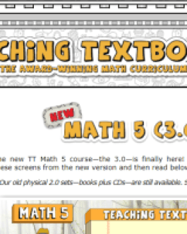 Teaching Textbooks: Math 5