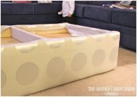 How to Make an Oversized Ottoman {Tutorial} | The Homes I ...