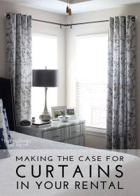 Making the Case for Hanging Curtains in Your Rental | The ...