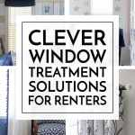 8 Clever Window Treatment Solutions For Renters The Homes I Have Made