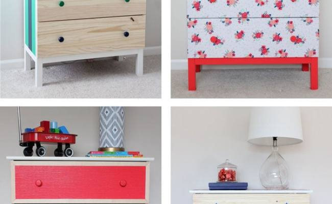 1 Ikea Dresser 4 Totally Temporary Transformations