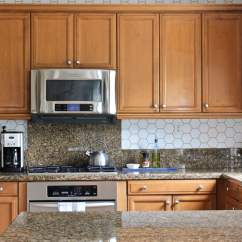 Wallpaper For Kitchen Hood Installation How To A Backsplash The Homes I Have Made Adding Pattern Your Doesn T Require Tile This Tutorial