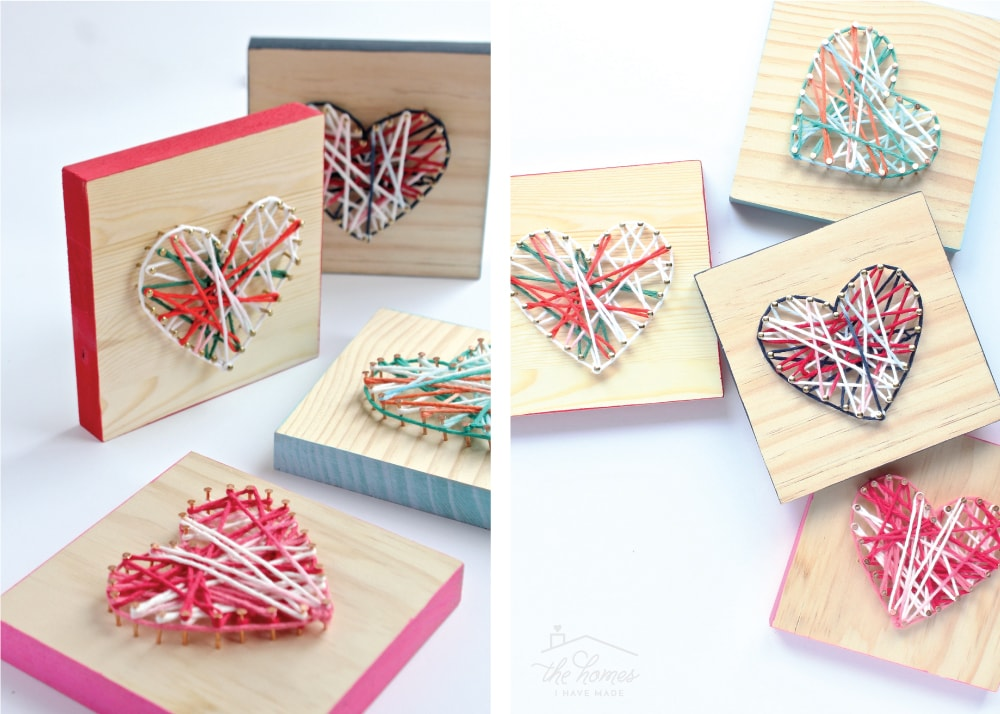 Easy Diy String Art Gift Idea Perfect For Kids The Homes I Have Made