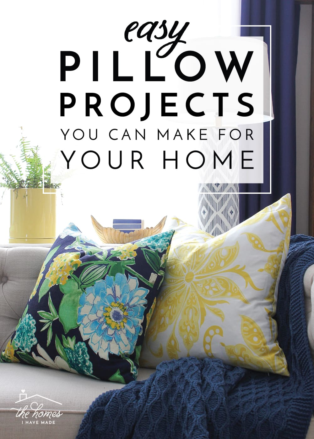 easy diy pillow projects you can make