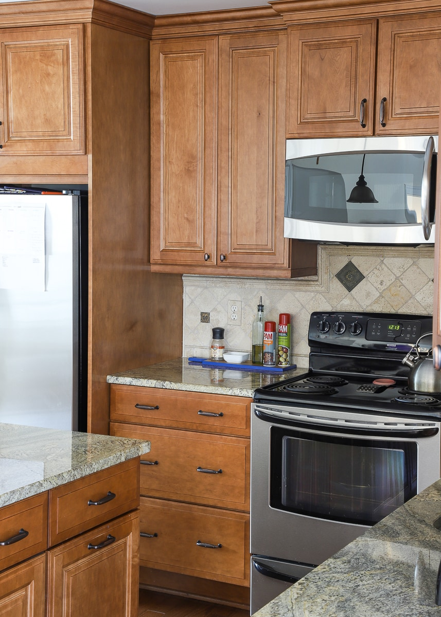how to use kitchen cabinets as a pantry