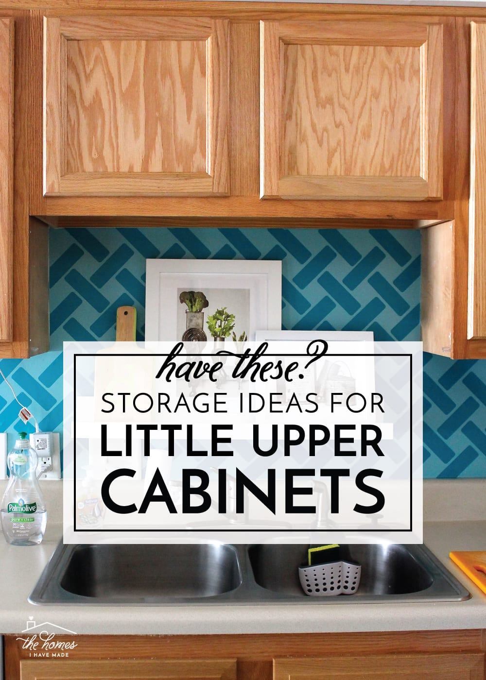 storage ideas for little upper cabinets