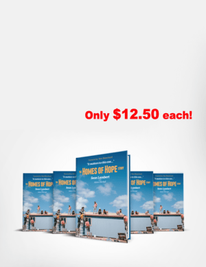 bulk discount - The Homes of Hope Story by Sean Lambert