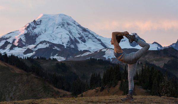 hike yoga