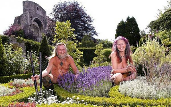 World Naked Gardening Day - a liberating experience