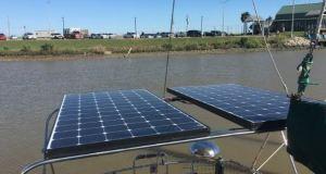 Solar Panels Sailboat