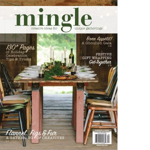 Mingle Magazine Autumn 2015 cover