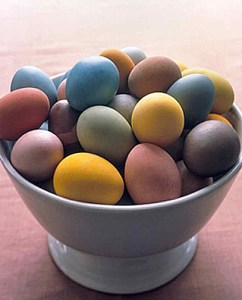 Dyeing Naturally – Eggs that is!