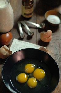 So – Your Recipe Calls for Raw Eggs . . . .Hmmmm