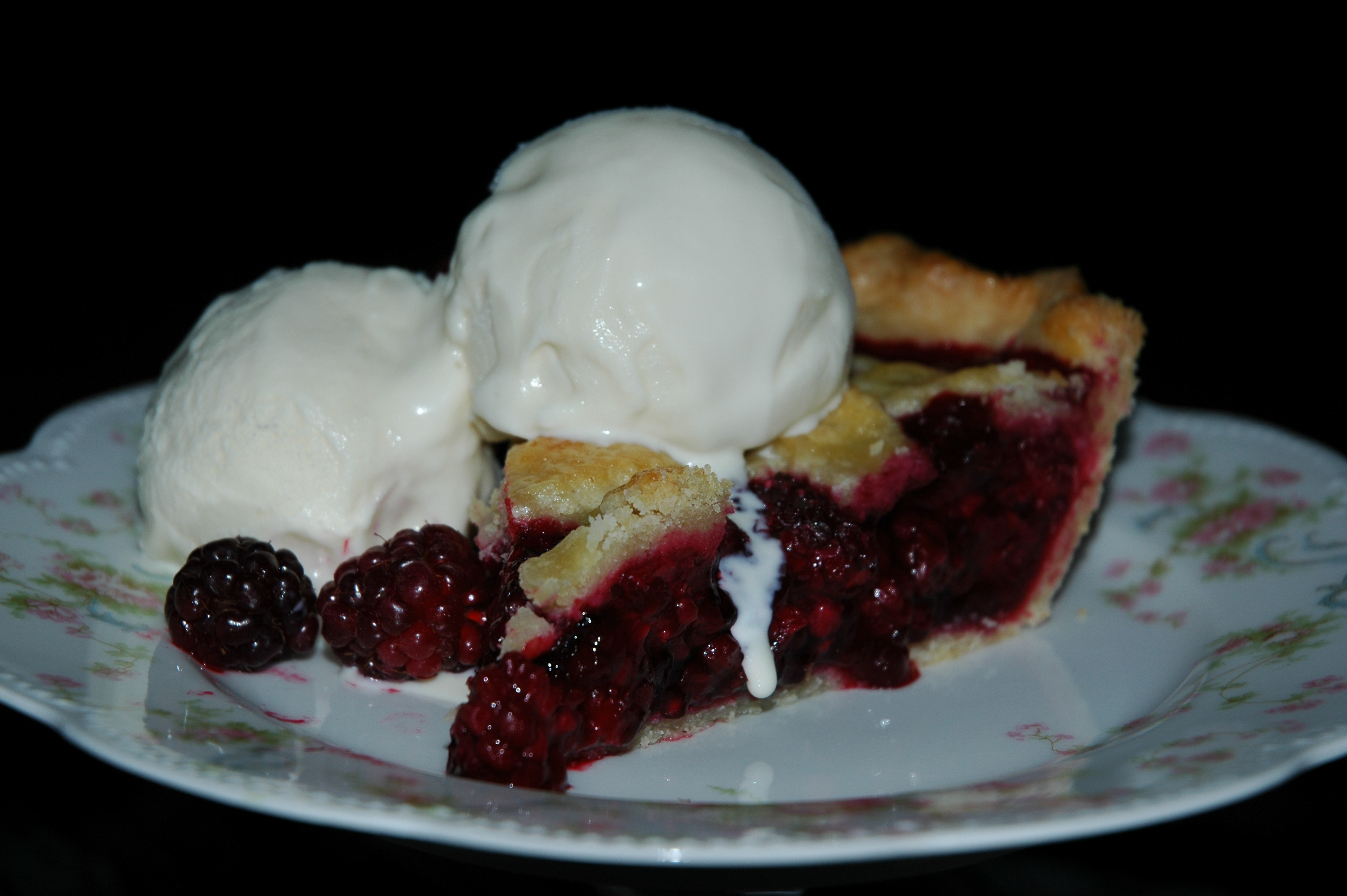 The Perfect Boysenberry Pie