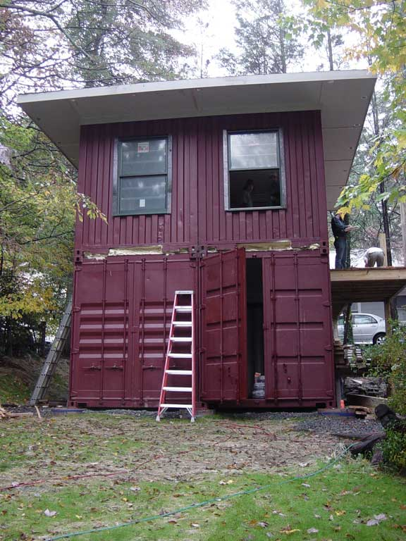 10 Ft Shipping Container Cabin