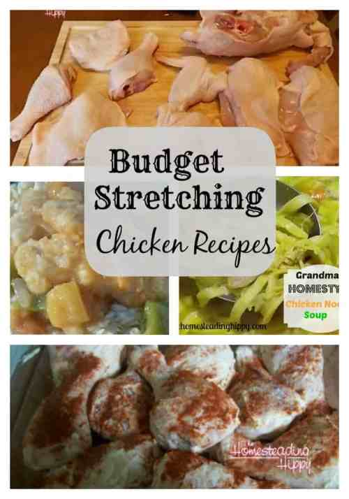 Budget Chicken Recipes