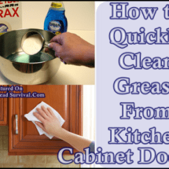 Best Way To Remove Grease From Kitchen Cabinets Ikea How Quickly Clean Cabinet Doors The Click Here Read About