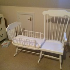 Rocking Chair And Cradle In One Target Bouncy Baby Crib All Diy Project The Homestead Survival