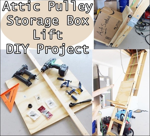 Diy Attic Lift Pulley System