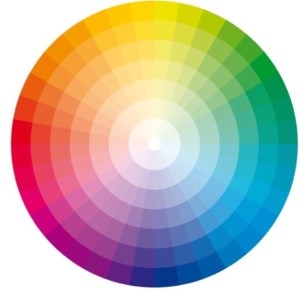 A colour wheel | The Home Stylist