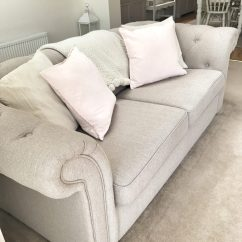 Repair Leather Sofa Cushion 3 Seater Bed With Cup Holders Restuffing Cushions Refilling The