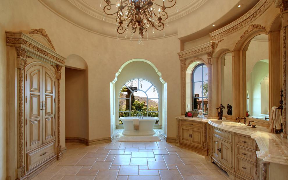 Mediterranean Style Bathroom  The Home Touches
