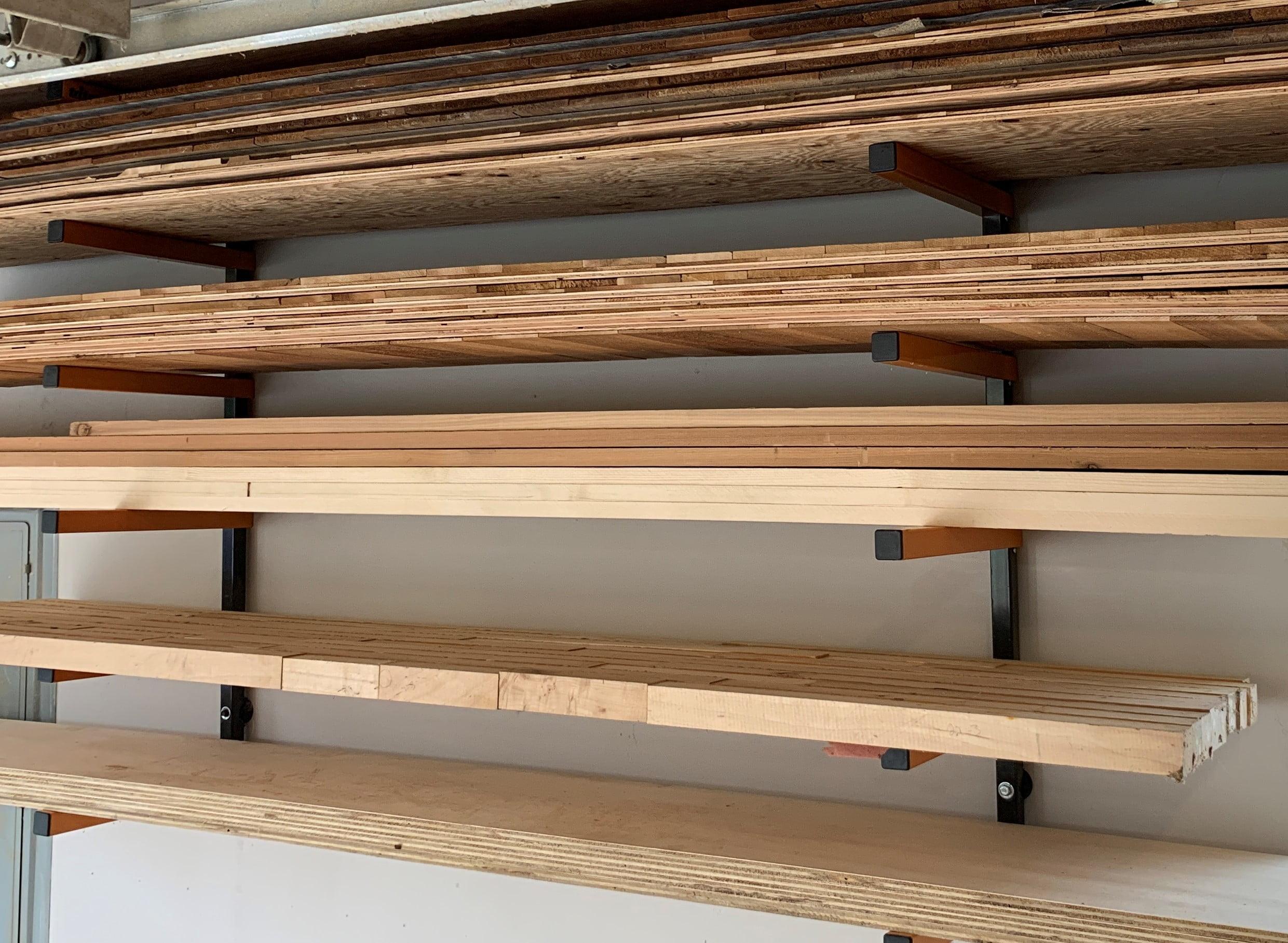 best lumber racks for small shops the
