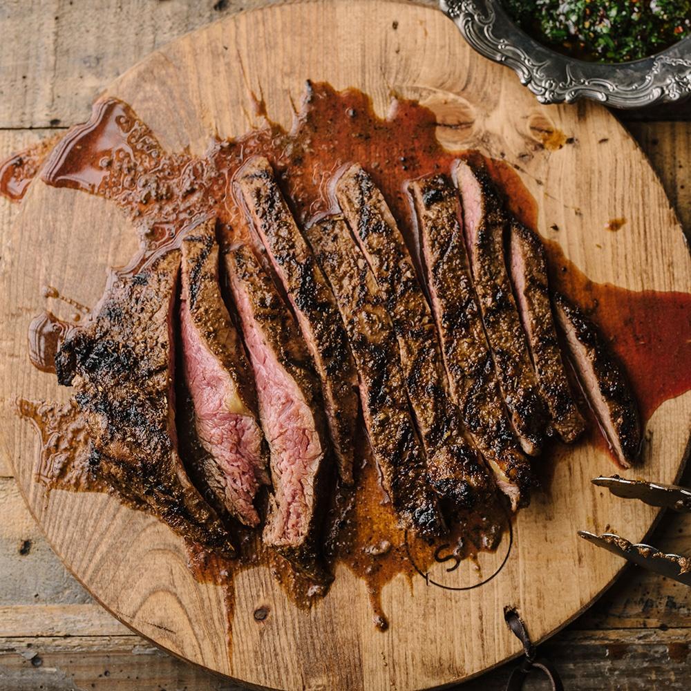 elk flank steak