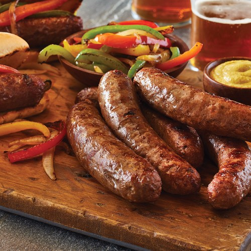 grassfed beef sausages