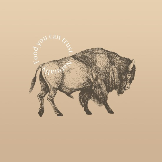 grass fed bison by The Honest Bison