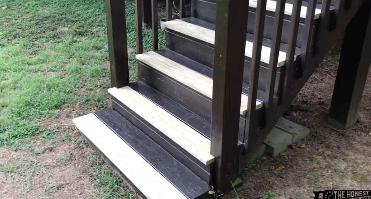How To Replace Deck Stair Treads The Honest Carpenter | Replacement Oak Stair Treads | Hardwood Lumber | Flooring | Stringer | Stair Nosing | Risers