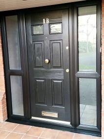 Black Regency Combanation Rockdoor