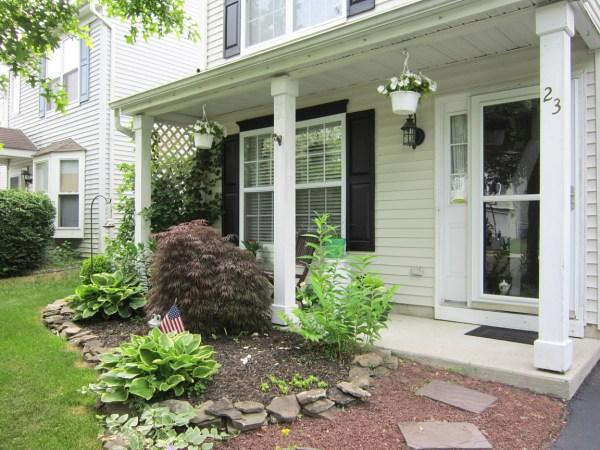 pop of color porch