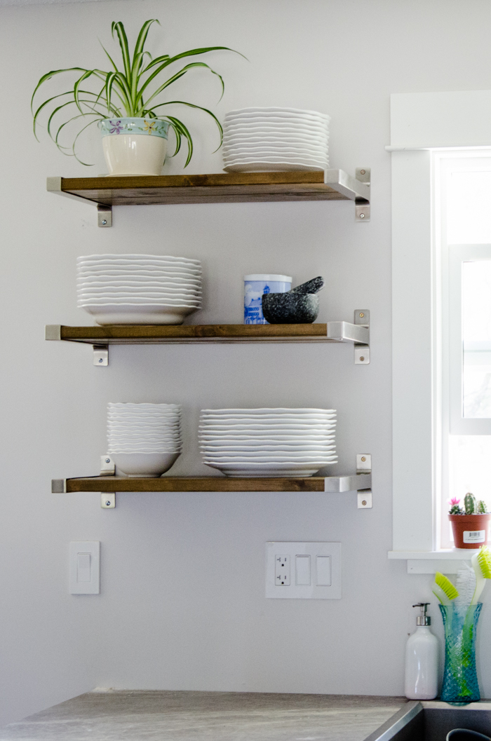 Floating Shelves  The Honeycomb Home