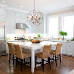 Eat In Kitchen Island Multi Pendant Lighting Islands Ideas