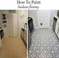 Painting Tile Floors In Kitchen