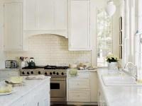 Home Office Decorating Ideas: Kitchen Backsplash Subway Tile