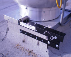 hinge kit on your kitchen exhaust system