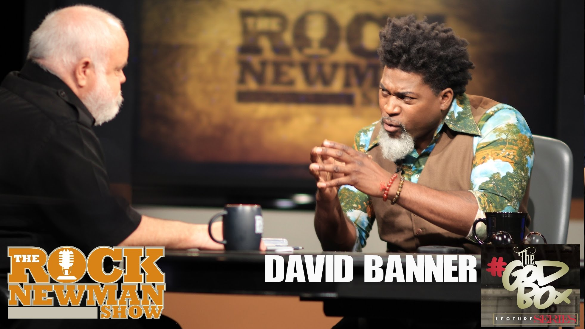 David Banner on The Rock Newman Show