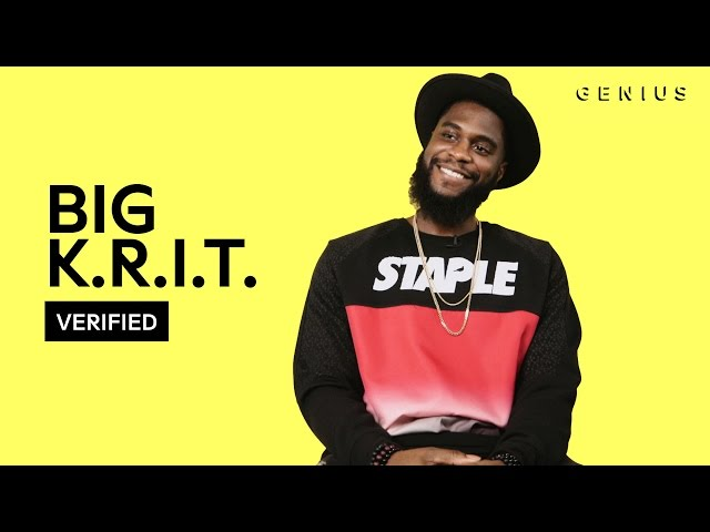 """Big Krit decodes """"Might Not Be Ok"""" with Rap Genius"""