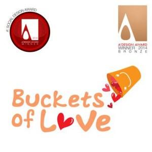"""Buckets of Love"" got them a bronze award under the Social Category."