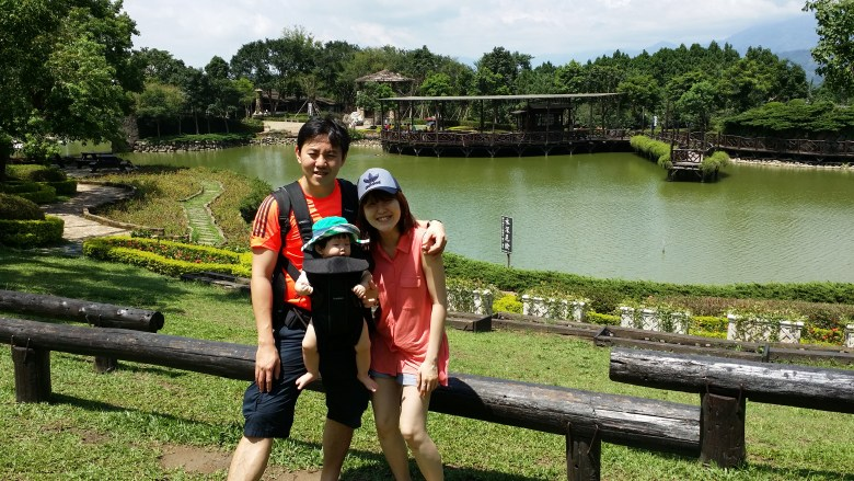 Xin She Castle in taiwan with baby singapore mum blogger