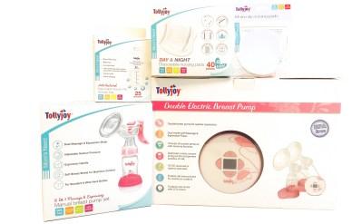 TJ New Breastfeeding Range of Products