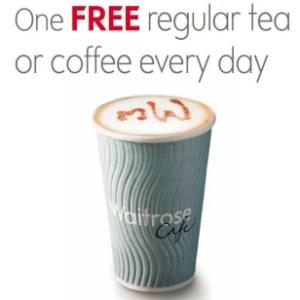 Waitrose Free Tea or Coffee